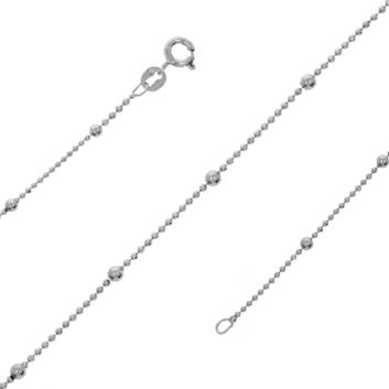 10016954 Łańcuszek srebrny pr.925 - 50 cm