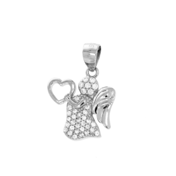 10016539 Wisiorek srebrny pr.925 z cyrkoniami
