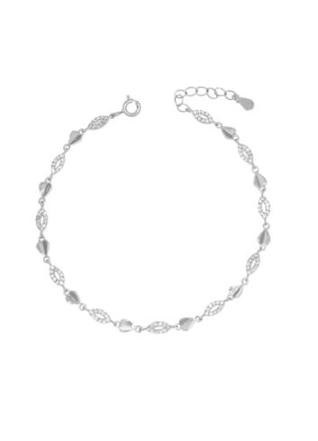 10008217 Bransoletka srebrna pr.925 z cyrkoniami