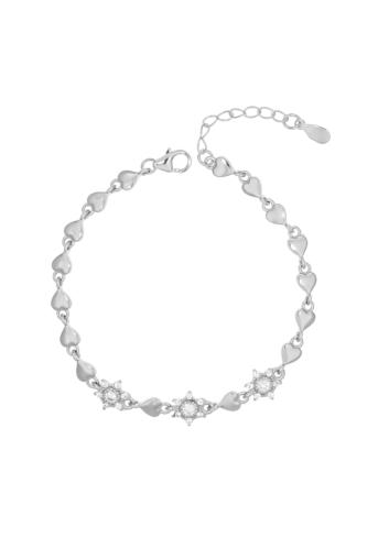 10008185 Bransoletka srebrna pr.925 z cyrkoniami