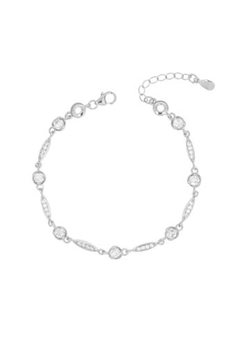 10008176 Bransoletka srebrna pr.925 z cyrkoniami