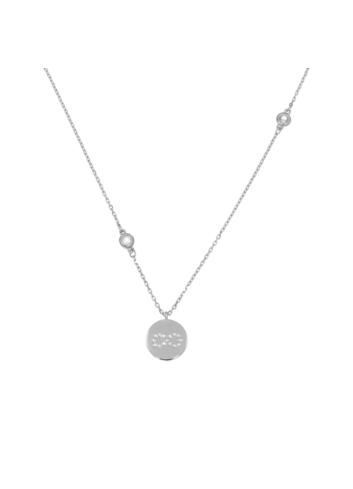 10005517 Naszyjnik srebrny pr.925 z cyrkoniami