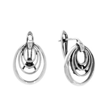 10016128 Kolczyki srebrne pr.925