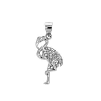 10015708 Wisiorek srebrny pr.925 z cyrkoniami