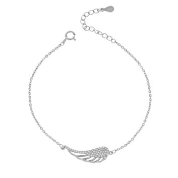 10005724 Bransoletka srebrna pr.925 z cyrkoniami