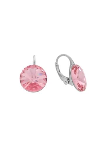 10007906 Kolczyki srebrne pr.925 z kryształami