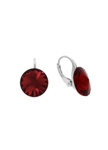 10003523 Kolczyki srebrne pr.925 z kryształami