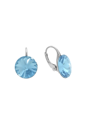 10003512 Kolczyki srebrne pr.925 z kryształami