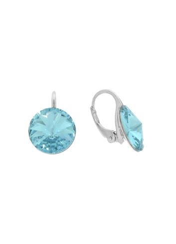 10007905 Kolczyki srebrne pr.925 z kryształami