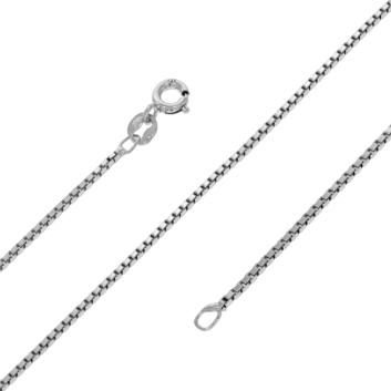 10013700  Łancuszek srebrny pr.925 - 45 cm