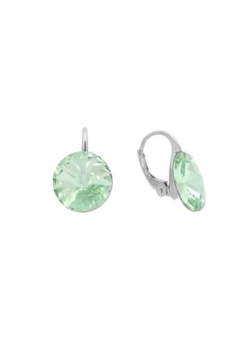 10007904 Kolczyki srebrne pr.925 z kryształami