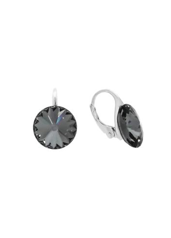 10003519 Kolczyki srebrne pr.925 z kryształami