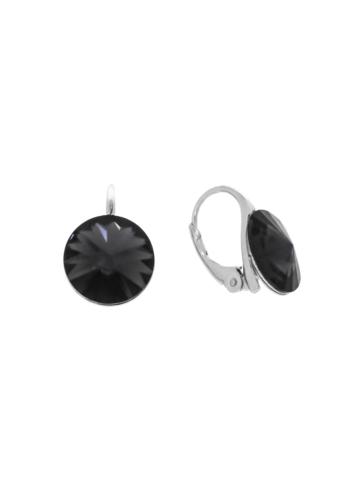 10007902 Kolczyki srebrne pr.925 z kryształami
