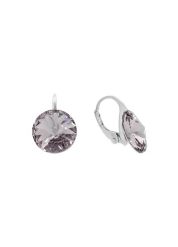 10003516 Kolczyk srebrny pr.925 z kryształami