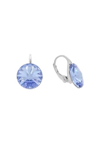 10003514 Kolczyki srebrne pr.925 z kryształami