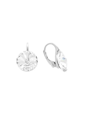 10003511 Kolczyki srebrne pr.925 z kryształami
