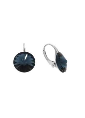 10003513 Kolczyki srebrne pr.925 z kryształami