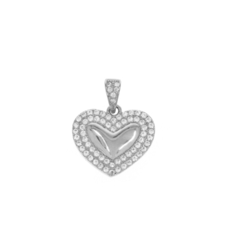 10017201 Wisiorek srebrny pr.925 z cyrkoniami