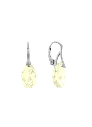 10003544 Kolczyki srebrne pr.925 z kryształami