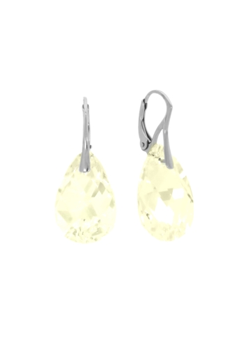 10003535 Kolczyki srebrne pr.925 z kryształami