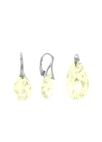10003541 Komplet srebrny pr.925 z kryształami