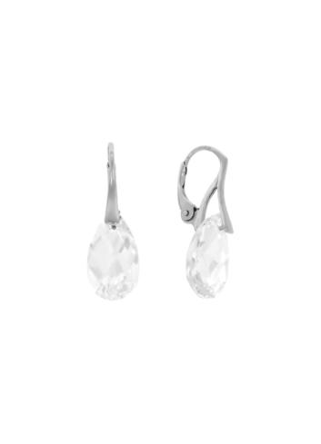 10003543 Kolczyki srebrne pr.925 z kryształami