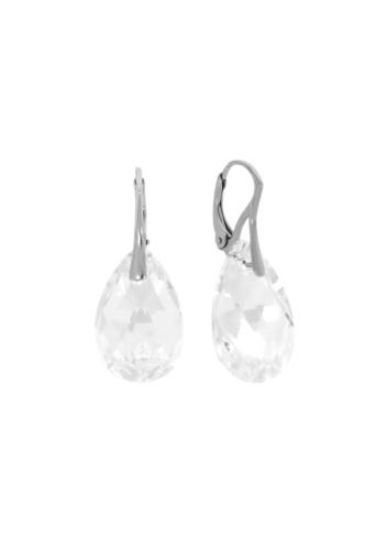 10003534 Kolczyki srebrne pr.925 z kryształami