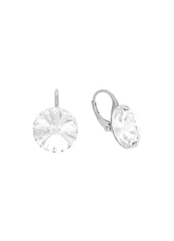 10003509 Kolczyki srebrne pr.925 z kryształami