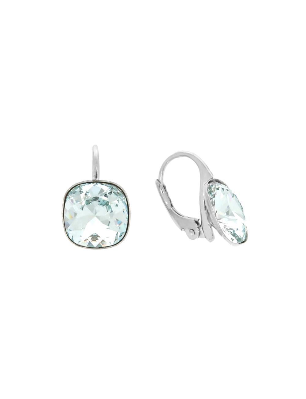 10003894 Kolczyki srebrne pr.925 z kryształami