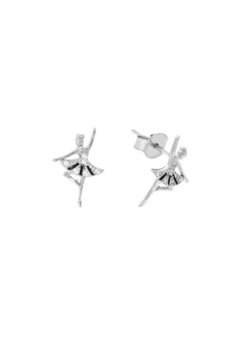 10008503 Kolczyki srebrne pr.925 z cyrkoniami