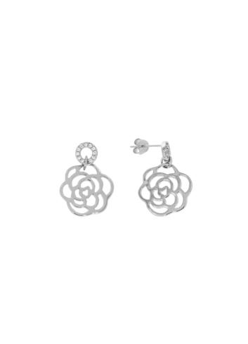 10008094 Kolczyki srebrne pr.925 z cyrkoniami