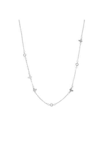 10006680 Naszyjnik srebrny pr.925 z cyrkoniami