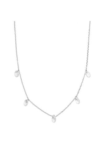 10007815 Naszyjnik srebrny pr.925 z cyrkoniami